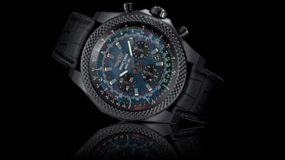 Breitling Bentley B06 Midnight Carbon Chronograph Men's Watch