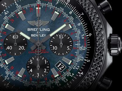 Breitling Bentley B06 Midnight Carbon Watch