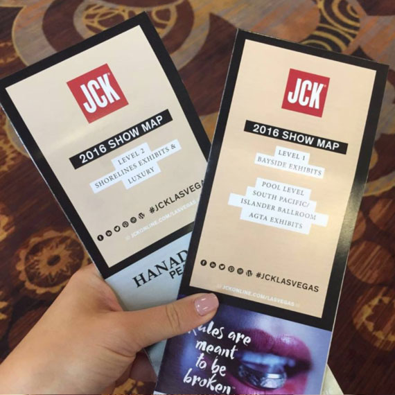 Tickets to the JCK Event