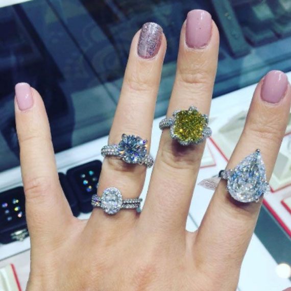 Diamond Rings From the JCK Event