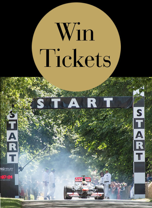 Win Two Tickets To Goodwood Festival Of Speed