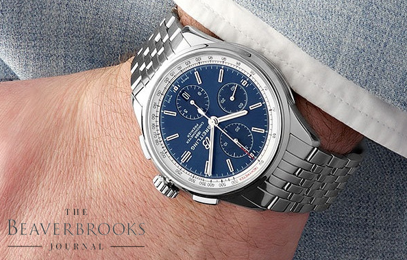 Blue-Dialled Watches For A Standout Look