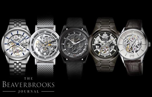 Top Five Skeleton Watches