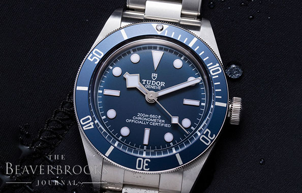 One to Watch | The New TUDOR Black Bay Fifty-Eight Navy Blue