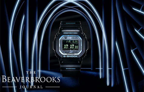 Casio G-Shock 5610 x Bamford London Limited Edition