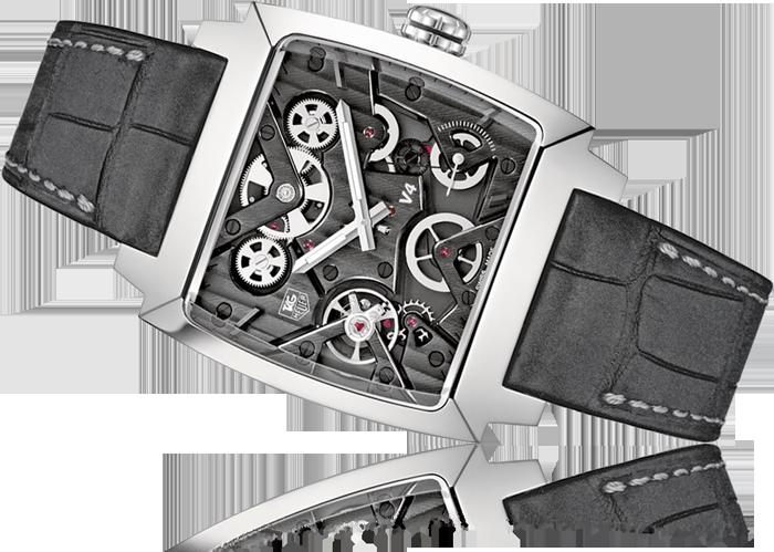 TAG Heuer Monaco V4 Titanium Automatic Men's Watch