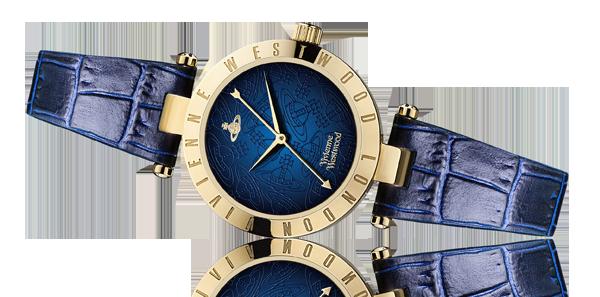 Vivienne Westwood Westbourne II Gold Plated Ladies Watch