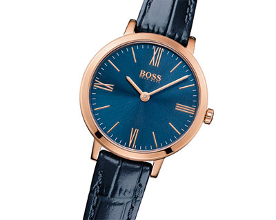 Hugo Boss Jillian Rose Gold Tone Ladies Watch
