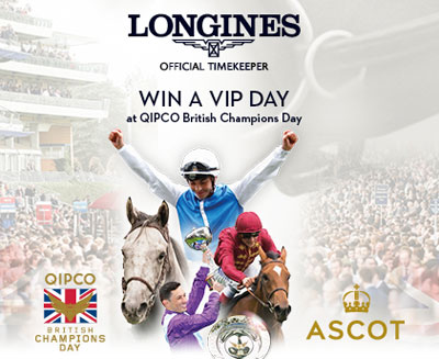 Longines | WIN Tickets To The Races
