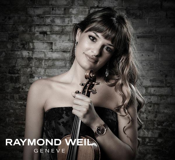 Nicola Benedetti - Raymond Weil
