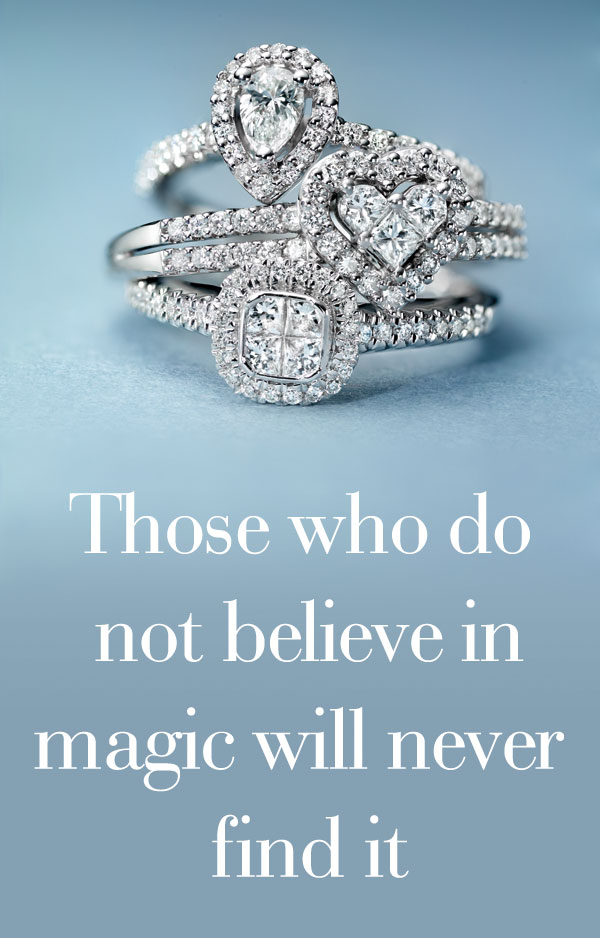 Quote of the month - Those who do not believe in magic will never find it