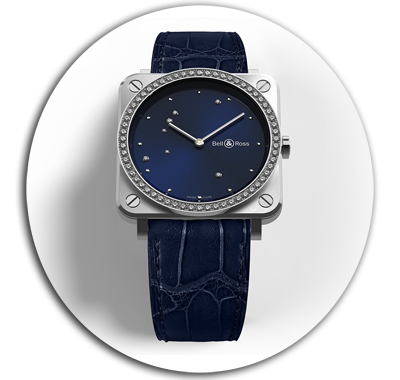 Bell & Ross Diamond Eagle Ladies Watch