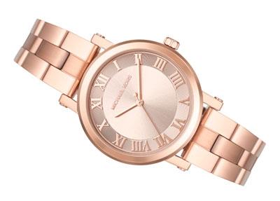 Michael Kors Norie Rose Gold Tone Ladies Watch