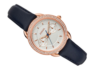 Fossil Tailor Gold Tone Ladies Watch