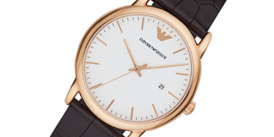 Emporio Armani Gold Tone Men's Watch