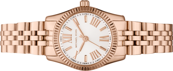 Michael Kors Lexington Mini Rose Gold Ladies Watch