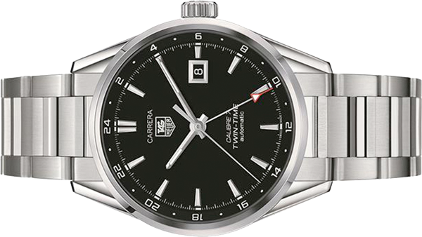 TAG Heuer Carrera Twin Time Automatic Men's Watch