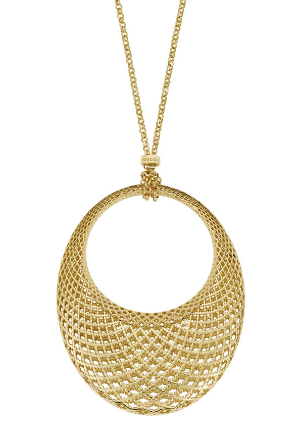 Gucci Diamantissima 18ct Gold Pendant